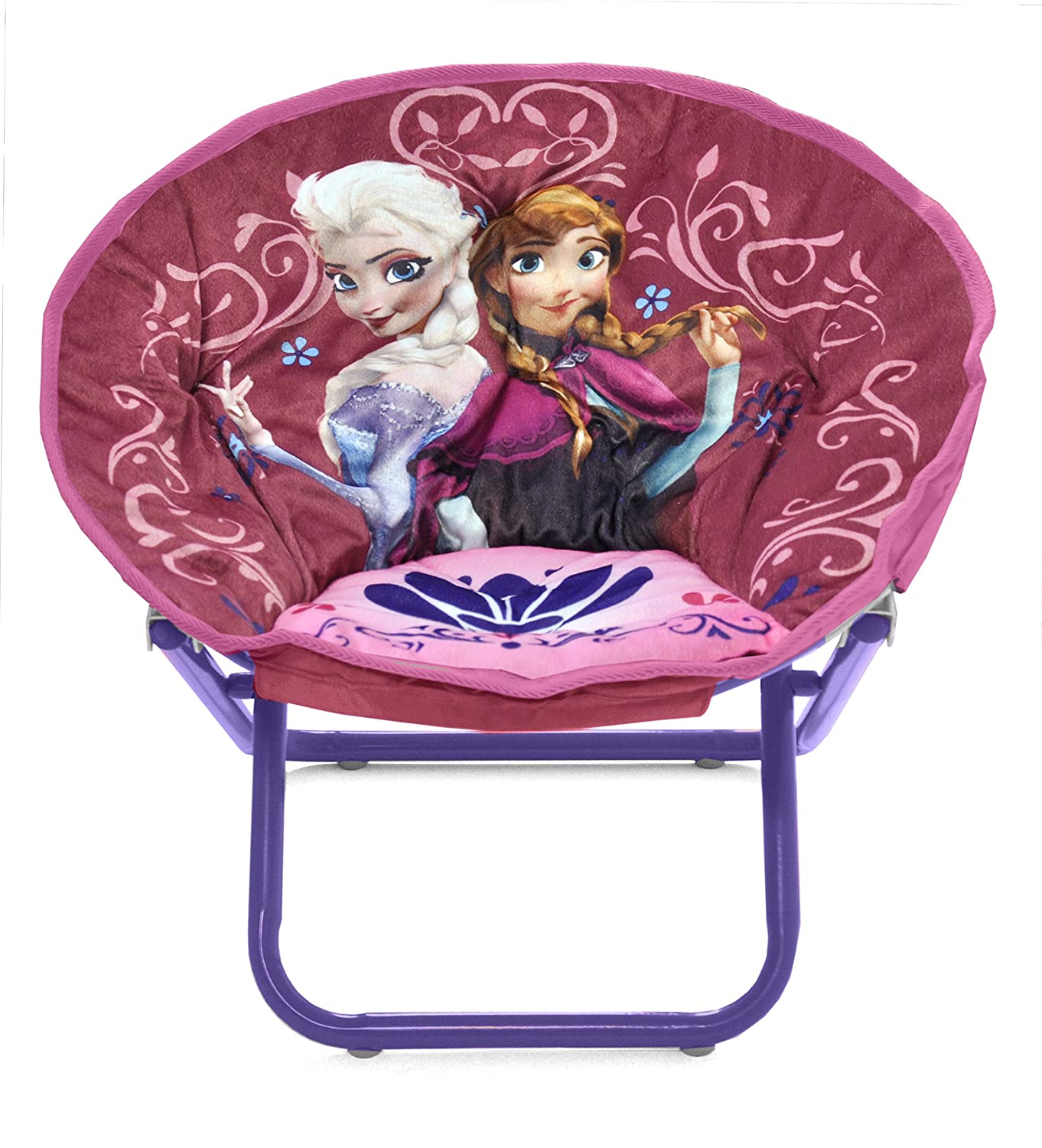 Elsa Chair Disney Frozen Saucer Chair Elsa Anna Seat Toddler Decor