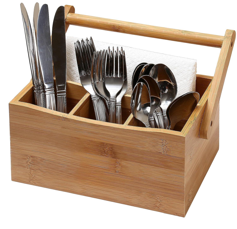 kitchen utensil caddy plate sets organizer flatware storage cutlery