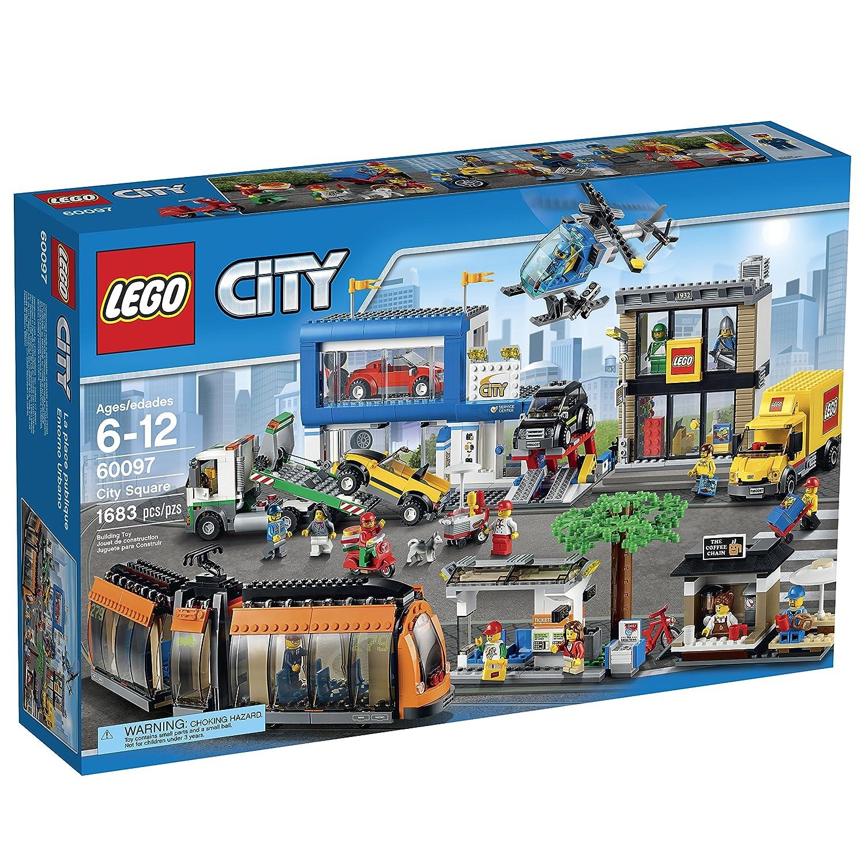 Lego City 60097 Plaza De La Ciudad