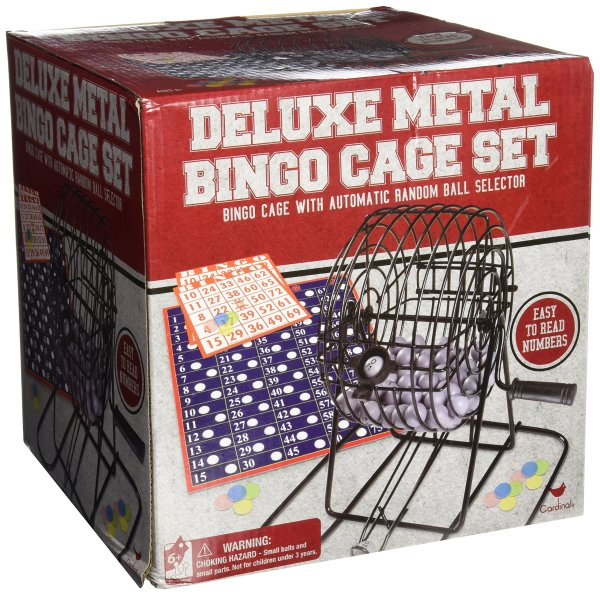 Deluxe Wire Cage Bingo Set Styles Vary Cardinal Industries