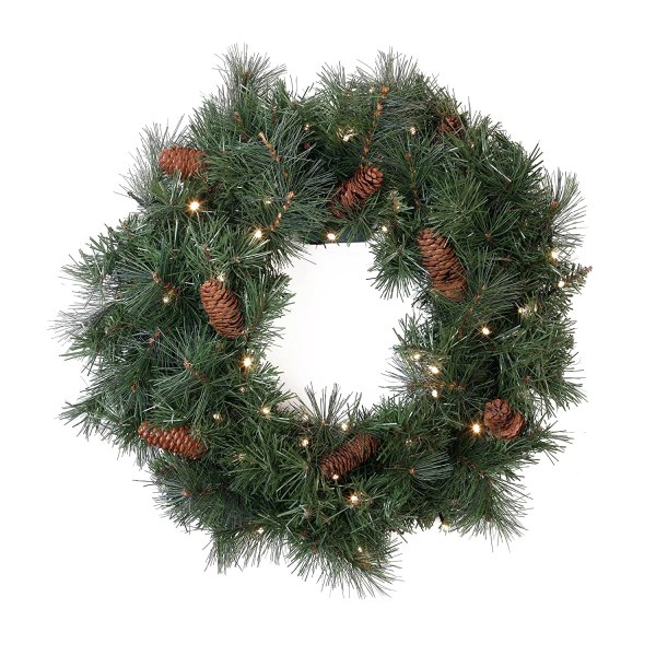 Battery Operated Christmas Wreath