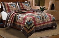 Rustic Bedding and Cabin Bedding - Ease Bedding with Style
