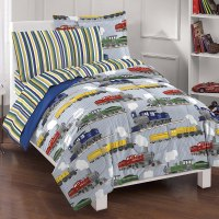 Dream Factory Trains Ultra Soft Microfiber Boys Comforter