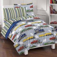 Dream Factory Trains Ultra Soft Microfiber Boys Comforter