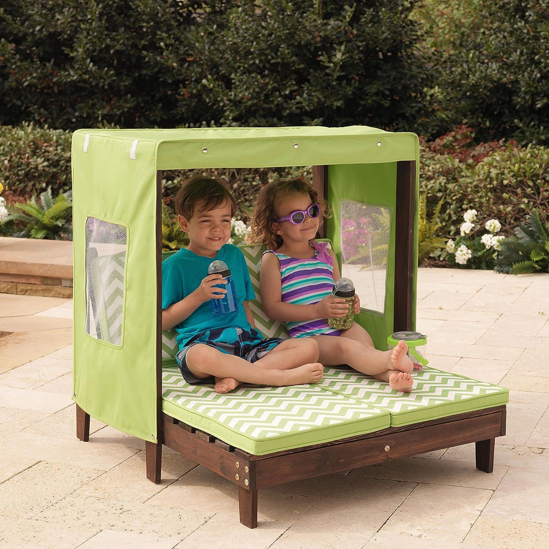Folding Chaise Lounge Beach Kid Children Chair Portable