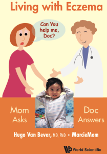 Living with Eczema book cover