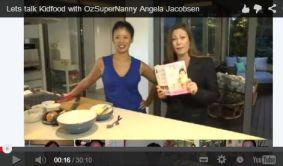 Vivian and Angela Jacobsen, on recipes from Baby Food!