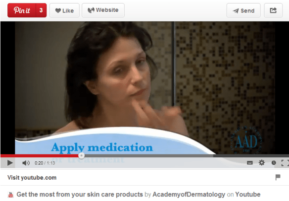 How to get the most from your skincare products by American Academy of Dermatology