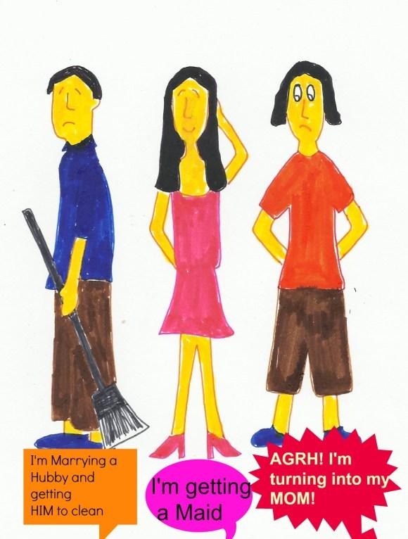 See Life of Eczema Girl cartoon 7 to catch the joke!