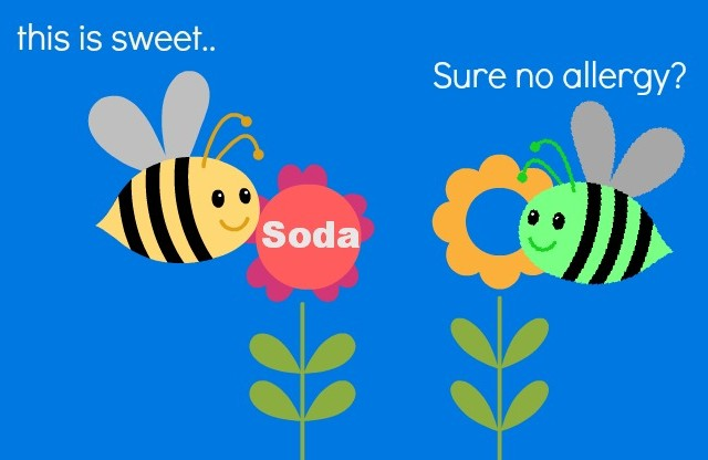 Soda Eczema Allergy