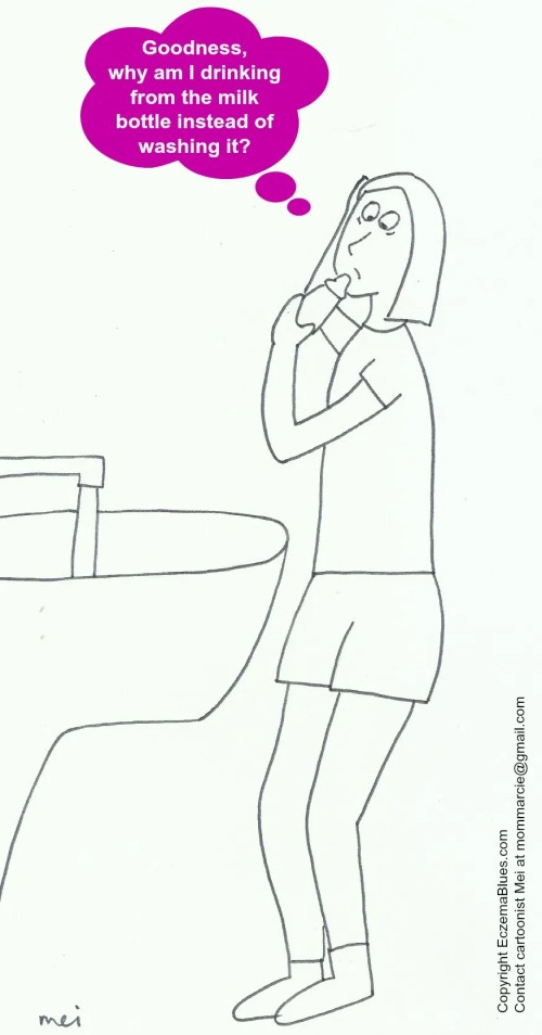 Mom NeedyZz cartoon sleep deprivation accident