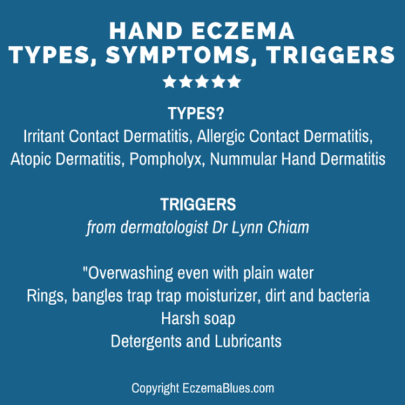 Hand Eczema - Types, symptoms and triggers with dermatologist Dr Lynn Chiam