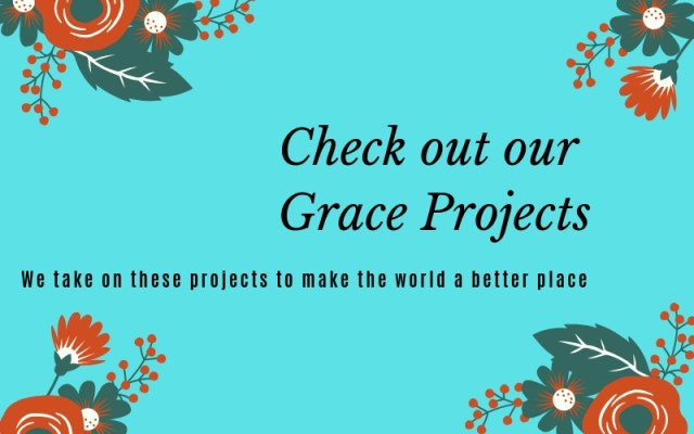 Our Grace projects in Singapore, to make our world a better place
