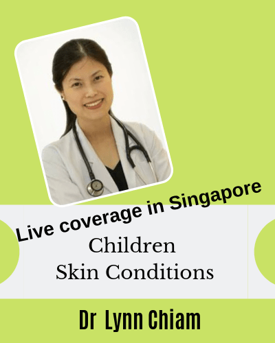 Children skin functions, common children skin conditions and what to do for babies with eczema with Dr Lynn Chiam