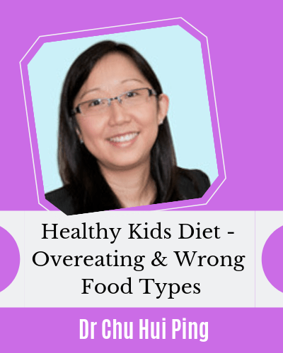 Feeding Kids Healthy - Right portion and types of food with Dr Chu Hui Ping