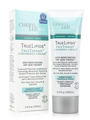 TrueLipids Ceramide Cream Dry Skin Therapy