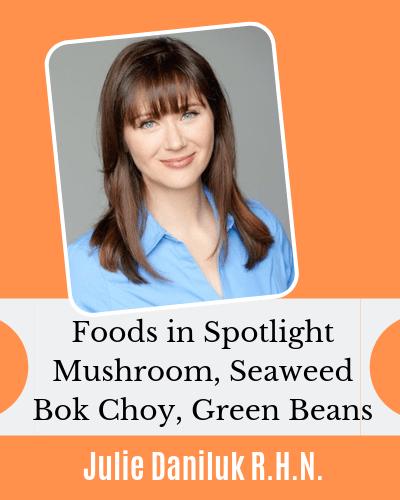 Julie Daniluk Foods in Spotlight with EczemaBlues