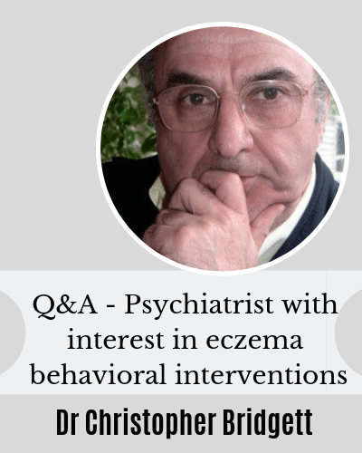 Q&A Habitual Scratching and Eczema with Dr Christopher Bridgett
