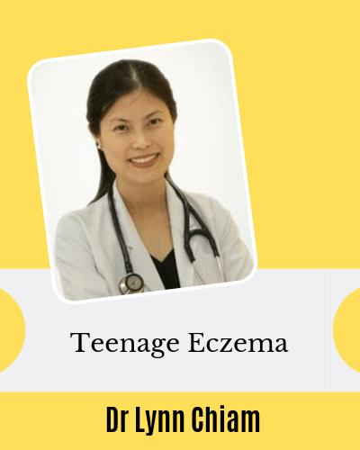 Teenage eczema with Dr Lynn Chiam dermatologist Singapore