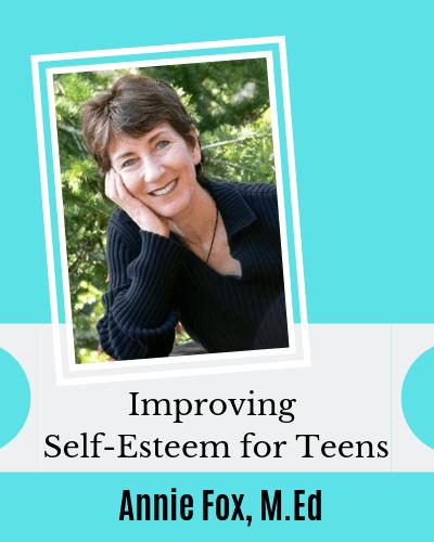 Improving Self-Esteem for Eczema Teens series with Annie Fox