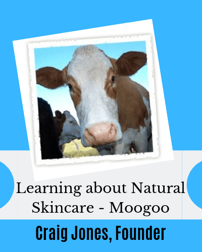 Interview with founder of Moogoo Skincare Craig Jones on EczemaBlues
