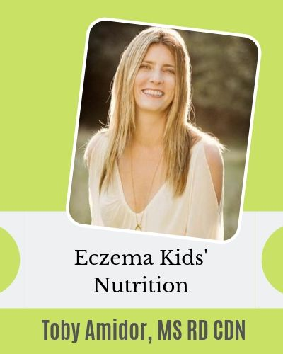 Eczema Kids Nutrition series - Toby Amidor interview with EczemaBlues.com