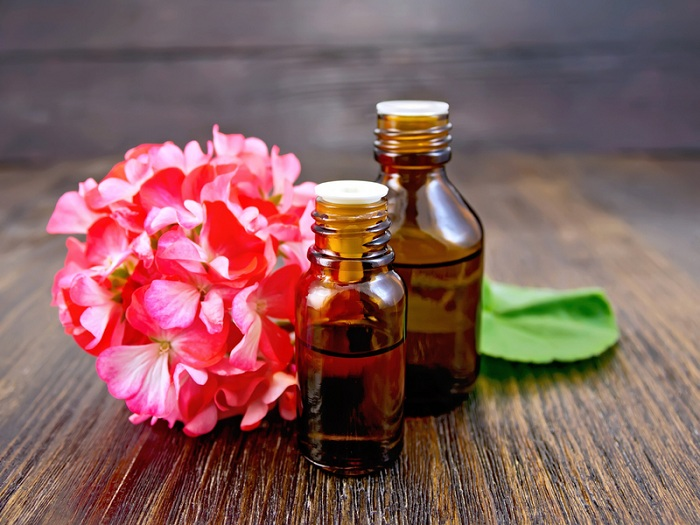 Geraniums Oil for eczema | best essential oils for eczema