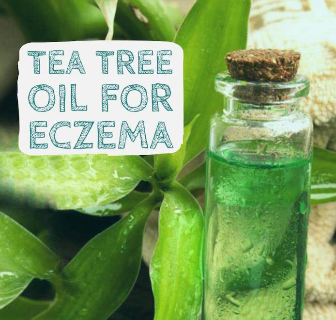 Tea Tree essential oils for eczema care