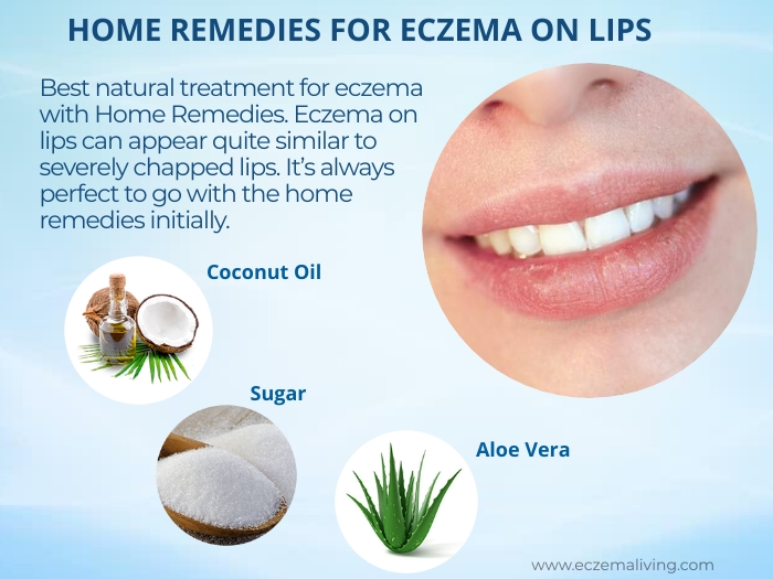 Home Remedies For Eczema on lips