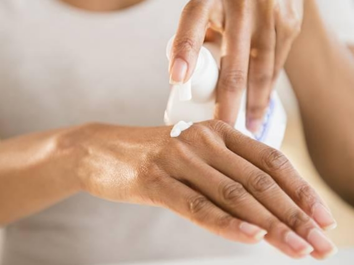 Moisturize before and after exercise