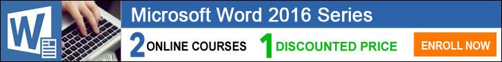 Microsoft Word Courses -ed2go