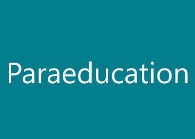Paraeducation
