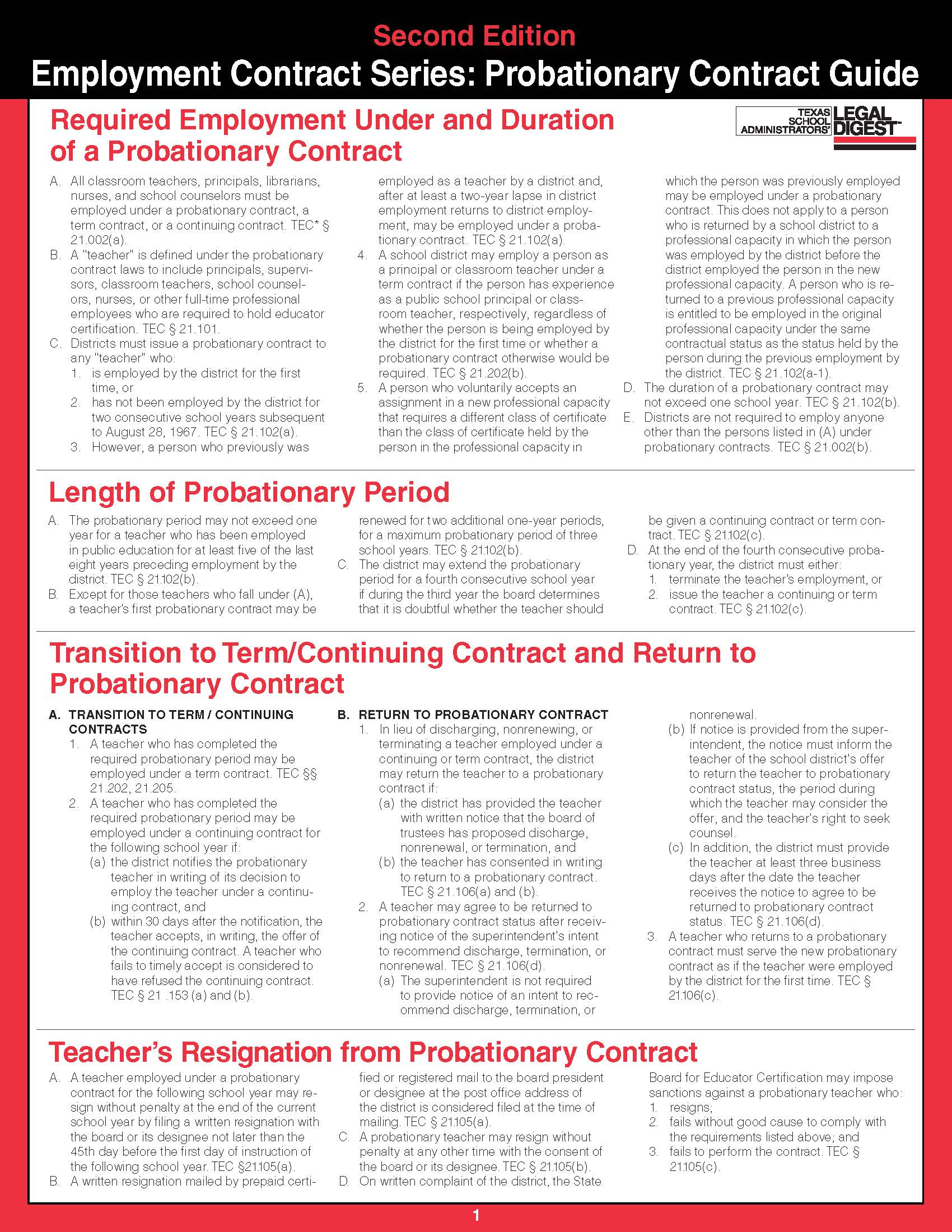 contract guide series