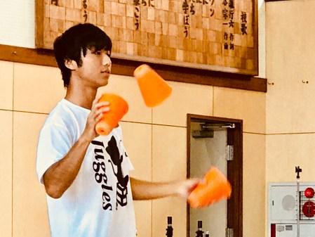 荏田高校 ジャグリング