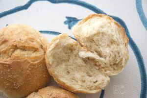 Miga de pan sin amasado