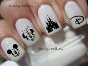 disney inspired nail design