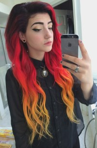 The gallery for --> Flame Red Hair Color