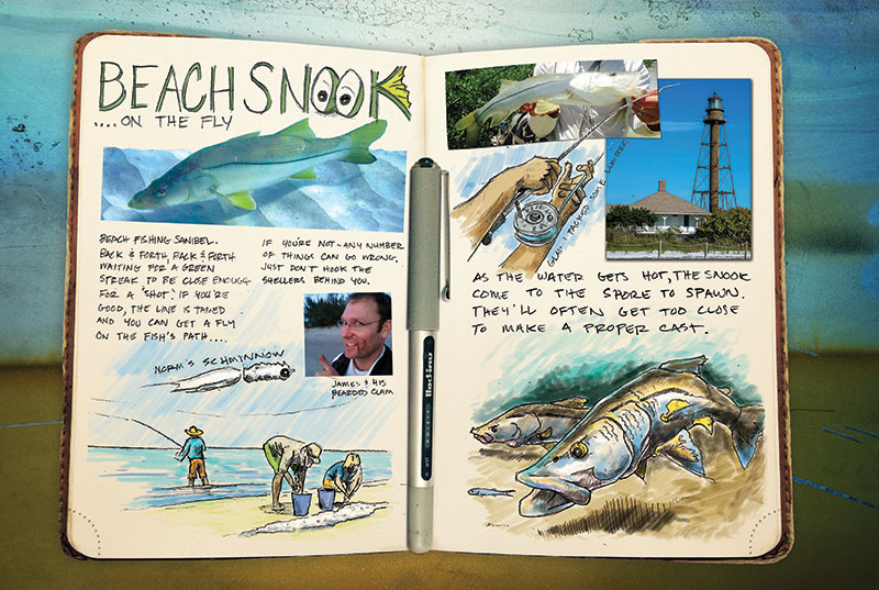 ed anderson art journal florida sanibel island