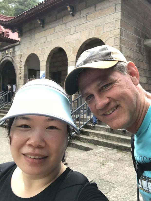 Dr. Sophie Yan and Dr. Stuart Wright