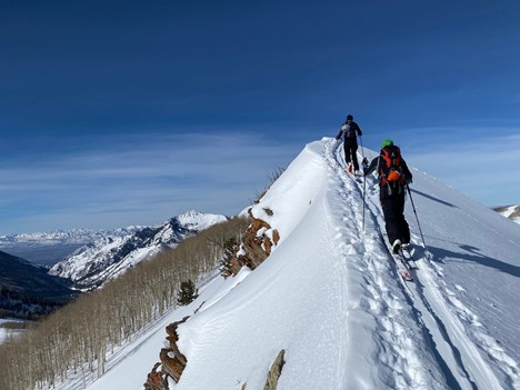You can't enjoy the descent without the hard work of climbing.