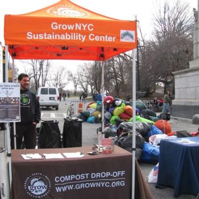 Greenmarket Sustainability Center, NYC, photograph courtesy of GrowNYC.