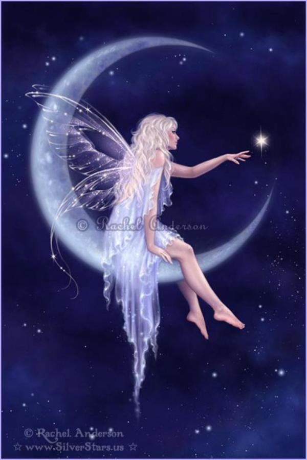 Moon Fairy Art