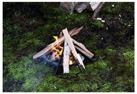 Hibbard Enterprises - Fire Pit Log Holder - Fire Starting ...
