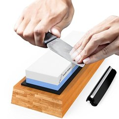 Kitchen Knife Sharpening Stone Islands That Look Like Furniture Premium 2 Side Grit 1000 6000 Waterstone