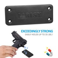 Lirisy Gun Magnet Mount | Rubber Coated Magnetic Gun ...