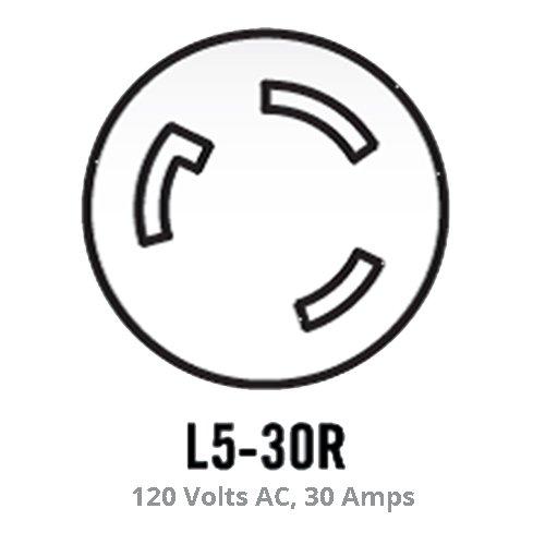 Champion 25-Foot 30-Amp 125-Volt Fan-Style Generator