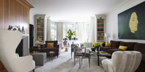 tom dixon wing back chair comfy for bedroom house tour: inside a delightfully inventive toronto home