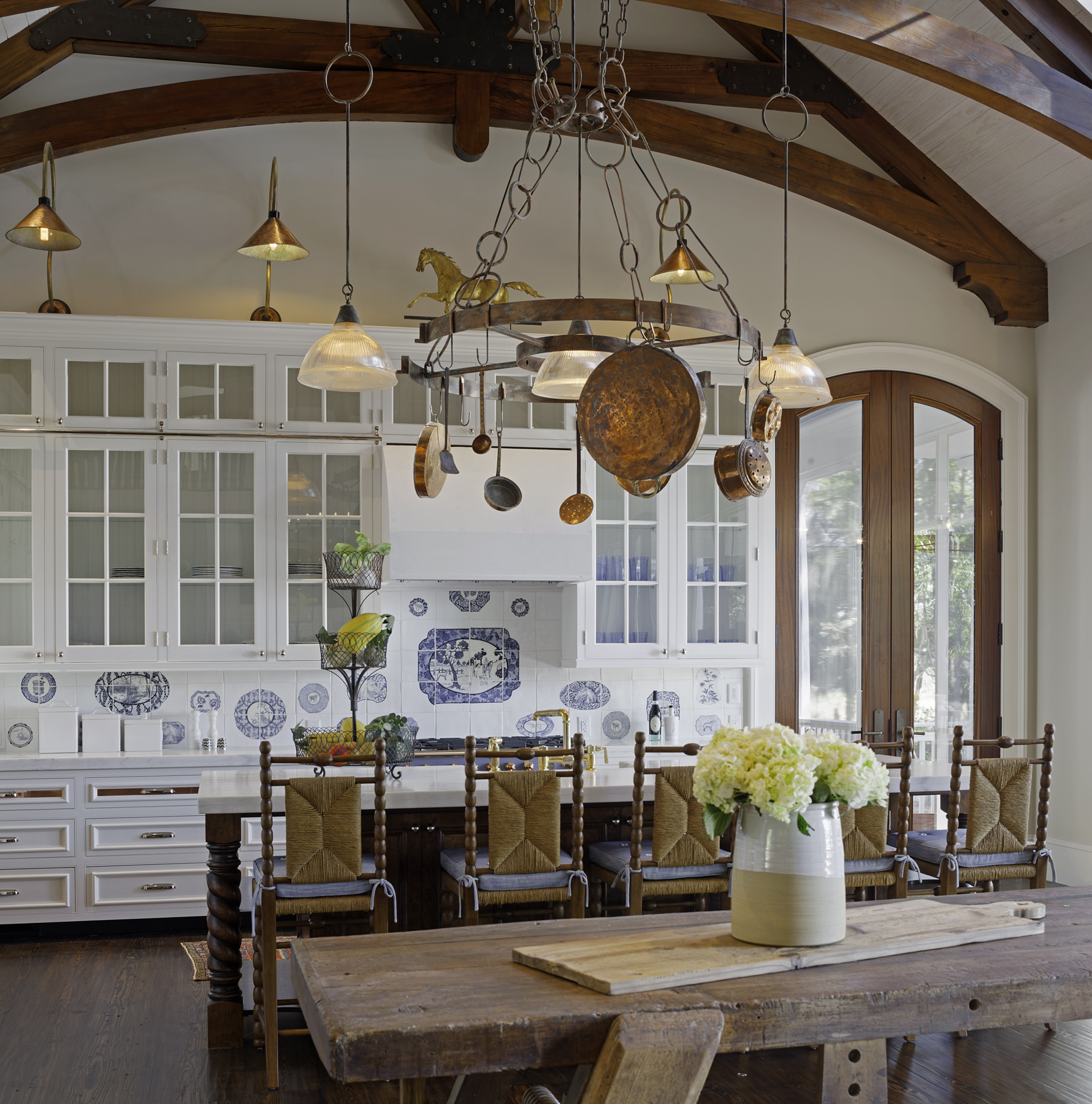 House Tour British Country House Style with a LaidBack Attitude in South Carolina