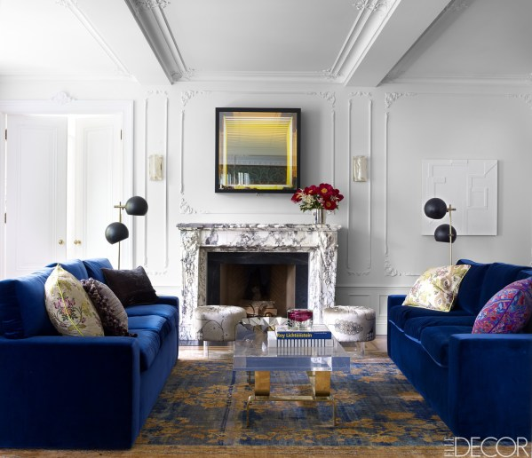 elle decor living room ideas Room Decor Inspiration - ELLE DECOR's Most Popular Rooms