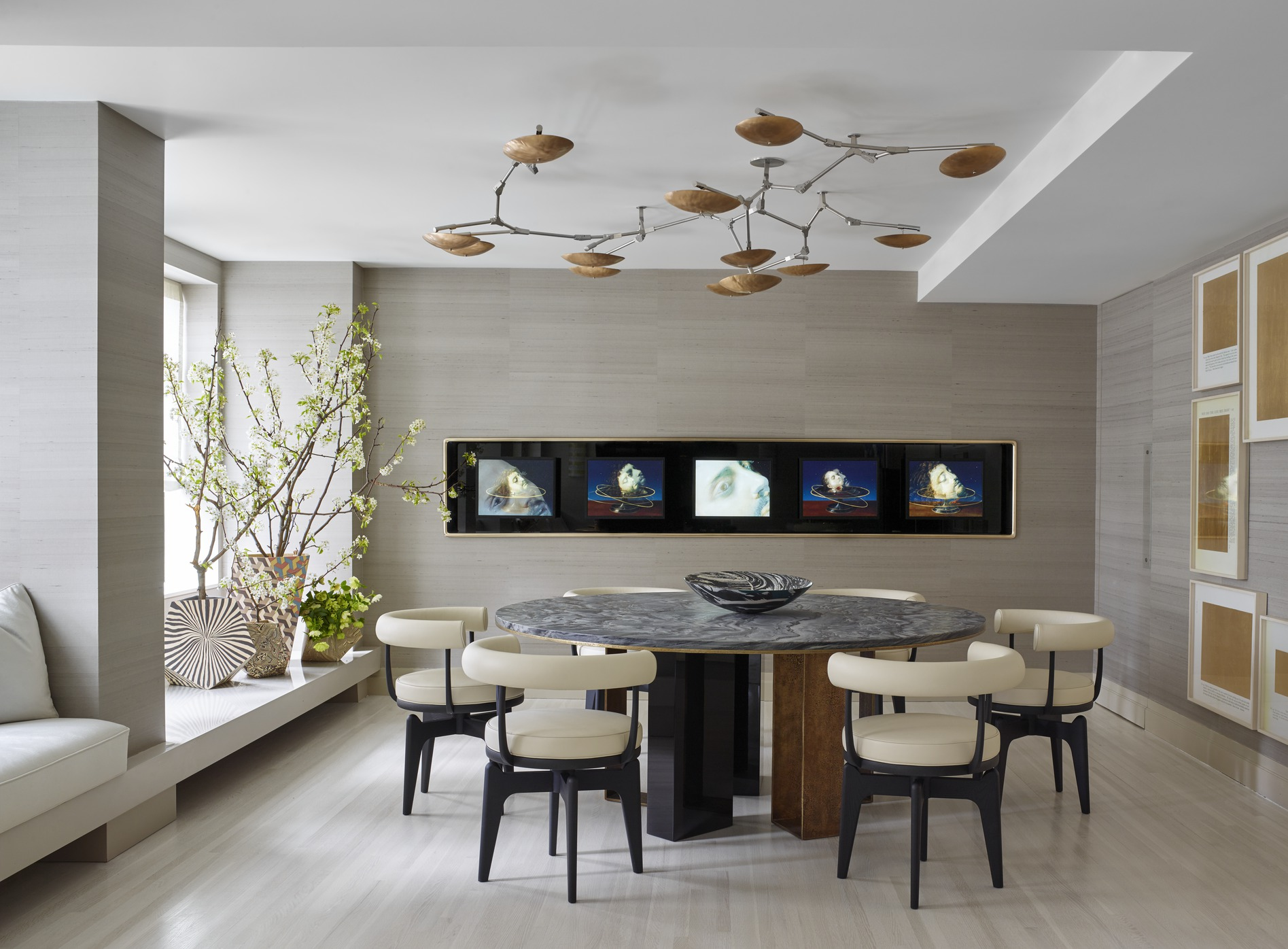 25 Modern Dining Room Decorating Ideas  Contemporary